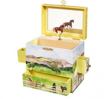 Caixa Musical Cavalls
