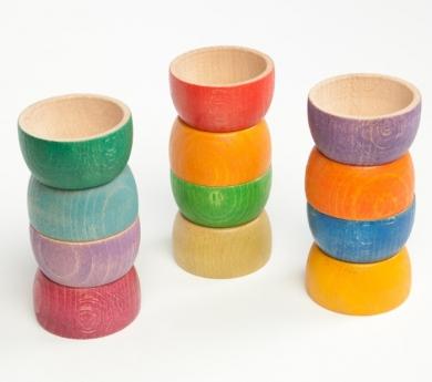 12 bols de colors