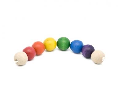 Cadena de bolas para bebé