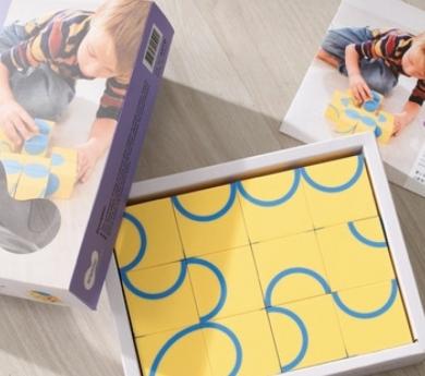 Puzzle artístico fun with curves
