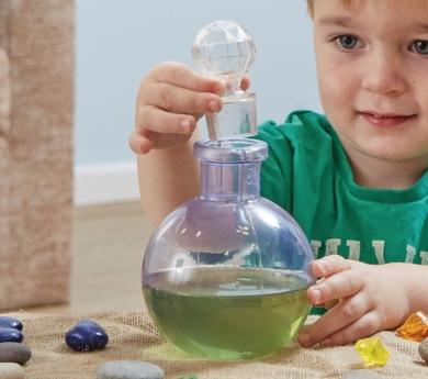 Ampolla transparent per pocions