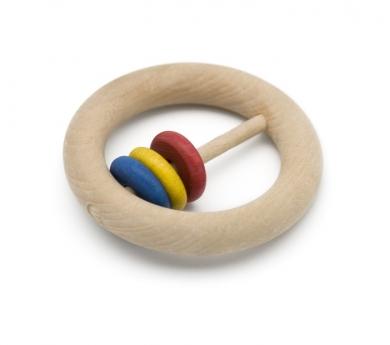 Sonall de fusta d'anelles petites