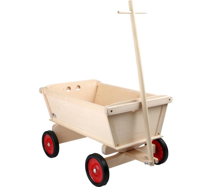 Carro de madera for Carritos de cocina de madera