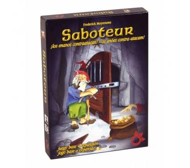 Saboteur, joc base més expansió