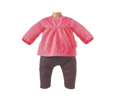 Conjunto de tejanos y jersey rosa