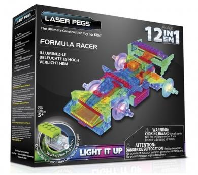 Construcción con luz 12 en 1 Formula Racer