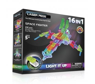 Construcción con luz 16 en 1 Space Fighter