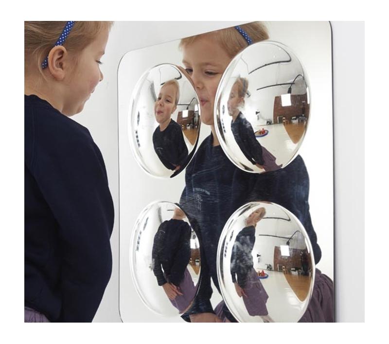 Espejo convexo de seguridad para ni os for Espejo esferico convexo