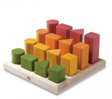 Bloques escalonados Montessori