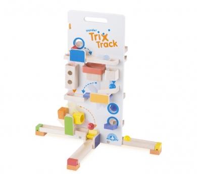 Gran circuito de bolas grandes Trix Trax