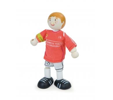 Muñecos deportistas articulados de juguete
