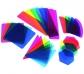 Piezas translúcides con clips