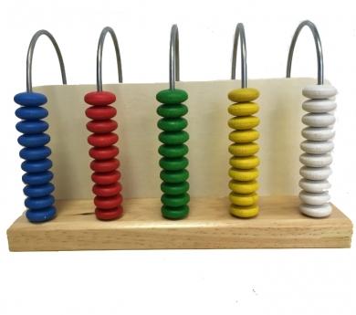 Àbac vertical de 5 columnes