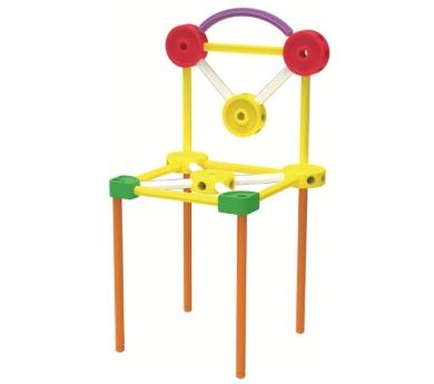 Tinkertoy plástico 65 piezas