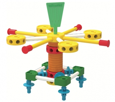 Tinkertoy plástico 100 piezas