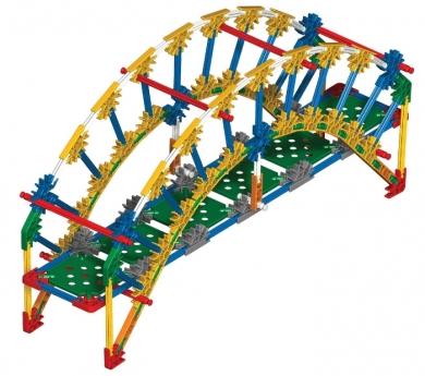 K'NEX arquitectura de puentes