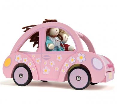 El coche rosa