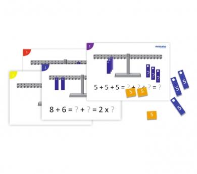 40 actividades y guía didáctica para la balanza numérica