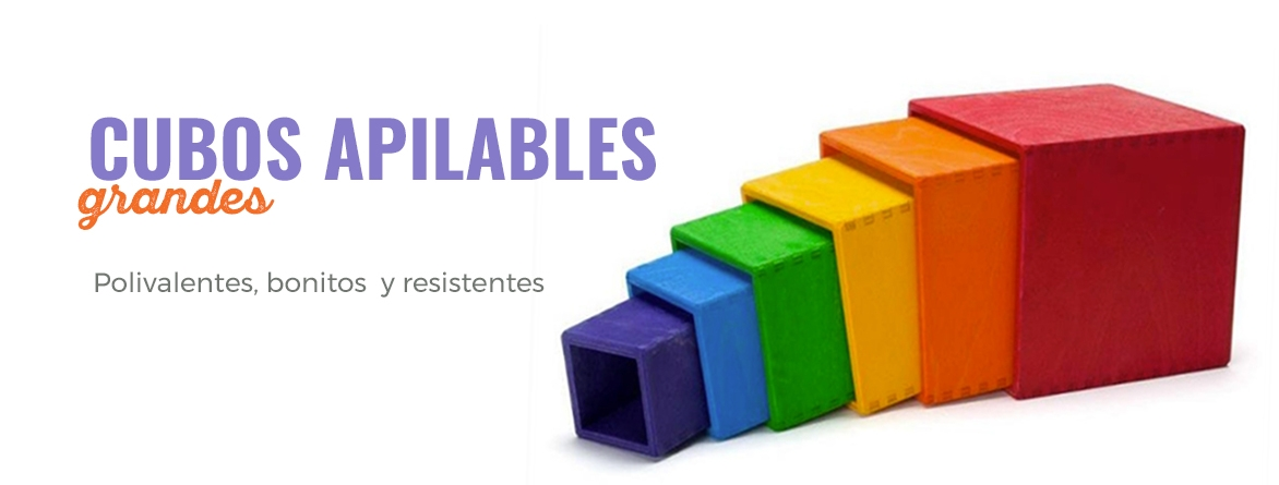 CUBOS APILABLES GRANDES