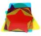 12 figuras geométricas translúcidas