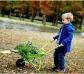 Carretó metàl·lic per a nens i nenes