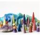 Bosque colores pastel Grimm's