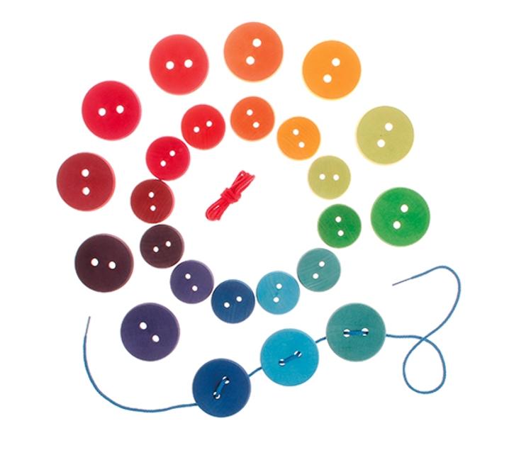 Botones arco iris Grimm's