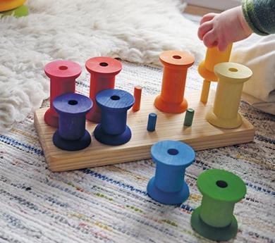 Joguines per apilar i encaixar