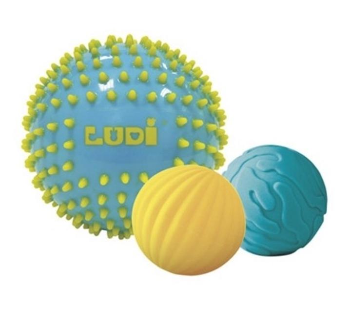 Conjunto de 3 pelotas sensoriales