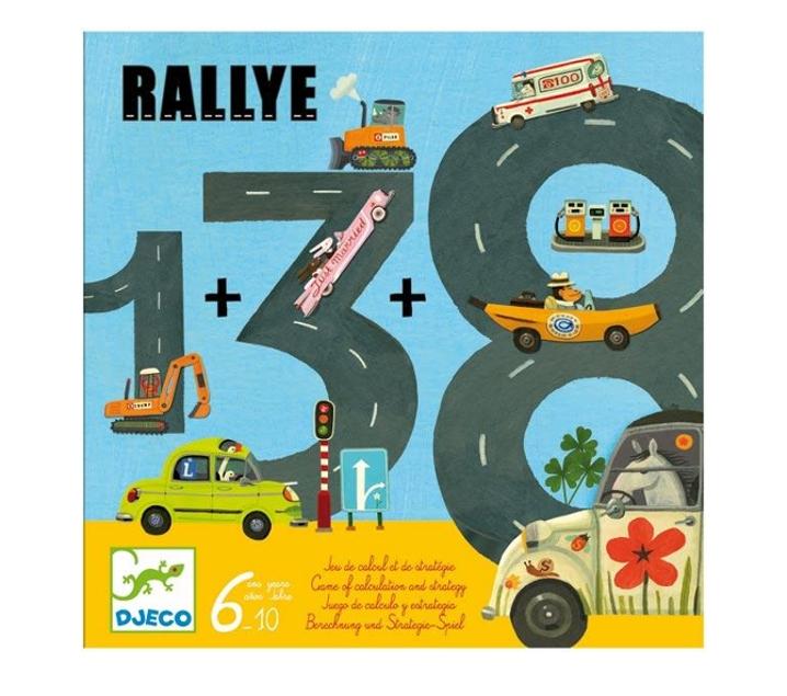 Juego de cálculo Rallye