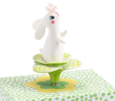 Caixa de música amb manovella conillet