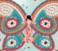 Manualidad con mosaicos Mariposas
