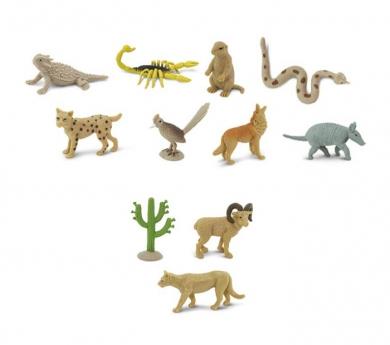 Animals del desert de joguina