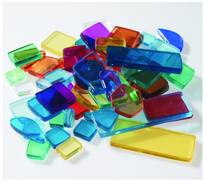 4000 Azulejos acrílicos translúcidos