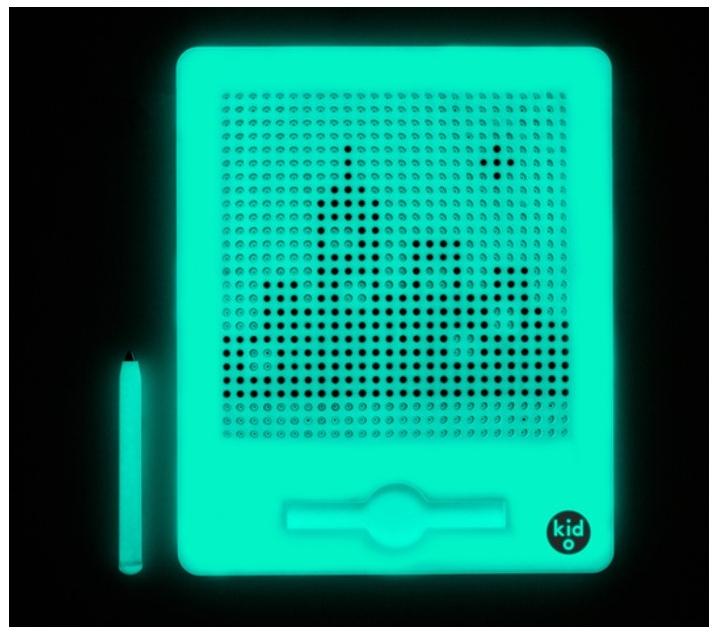 Magnatab fluorescent