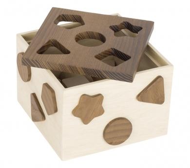 Caja de formas para encajar Nature