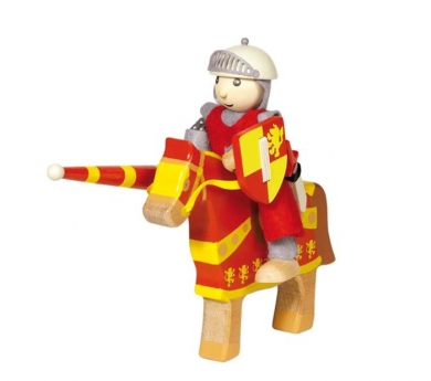 Caballero de madera de juguete Artur