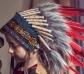 Penacho de indio ajustable Ithua