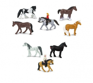 Cavalls i genets de joguina