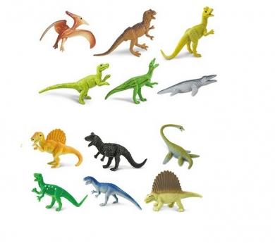 Dinosaurios carnívoros de juguete