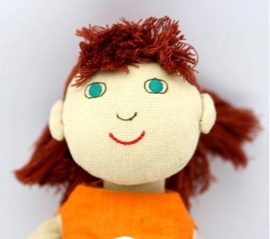Muñeca de tela Zoe Fürnis