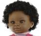 Muñeca con rasgos africanos