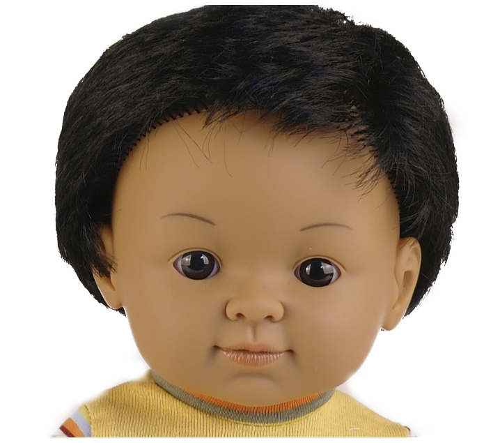 Muñeco con rasgos hindús