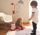 Utensilios de limpieza infantiles con soporte