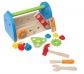 Caixa d'eines de joguina de fusta