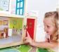 Casa de muñecas con luz y parking