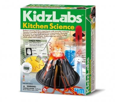 Kit de ciencia en la cocina