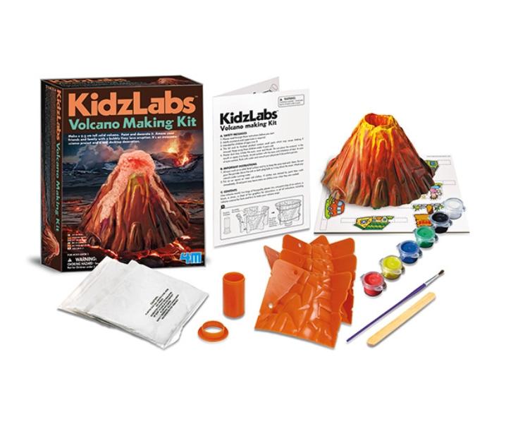 Kit para hacer un volcán