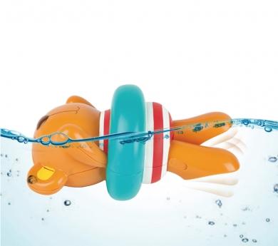 Osito nadador con cuerda