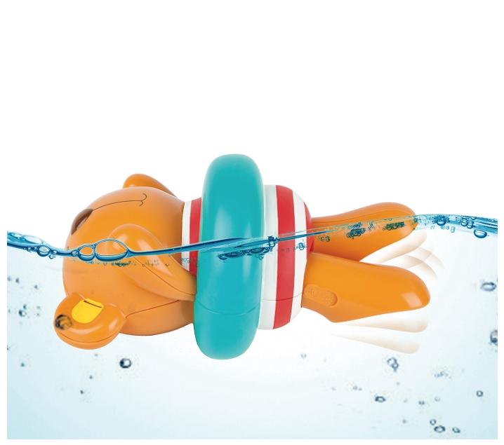 Osset nedador amb corda